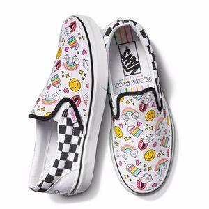 VANS CLASSIC SLIP-ON 'FLOUR SHOP' shoes size  10.5